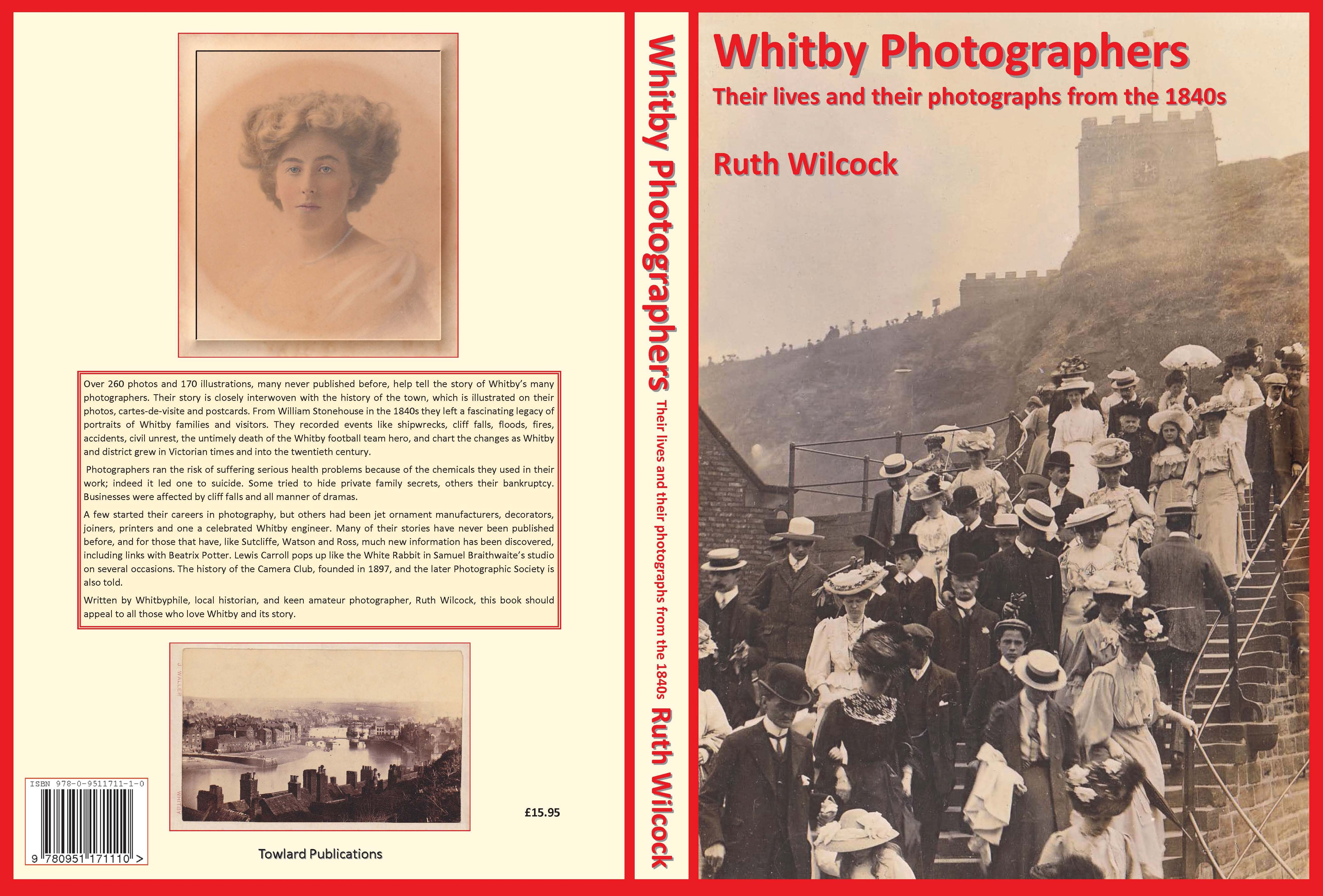 Image of book cover for Ruth Wilcock's Whitby photographers.